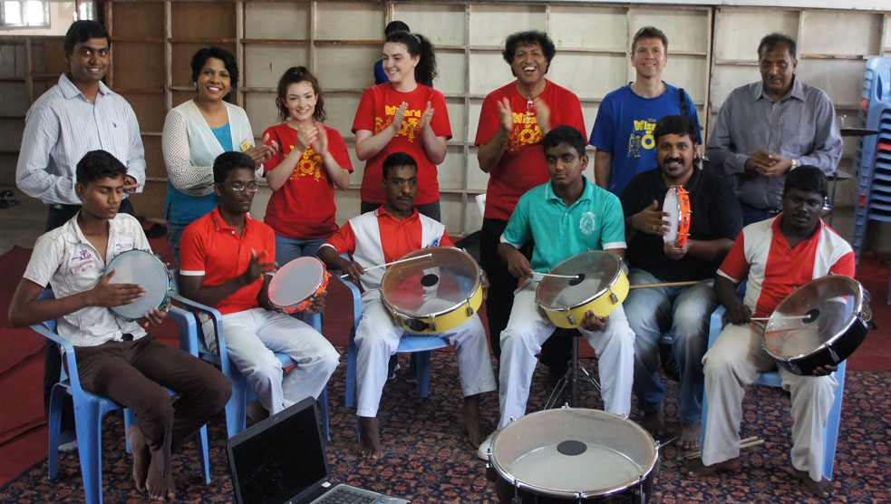 India - Percussion Workshop Chennai
