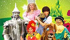 The Wizard of Oz Show July Tour