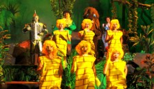 The Wizard of Oz Show scene
