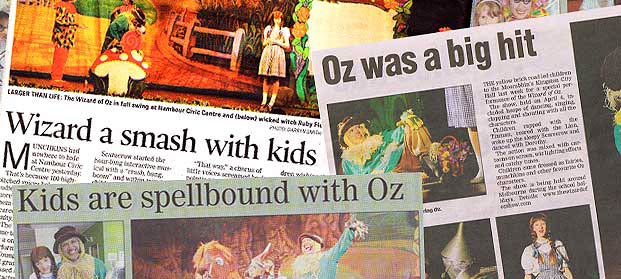 The Wizard of Oz Show Tours