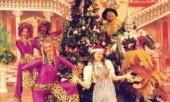 Scene from The Wizard of Oz Christmas Show DVD